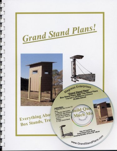 Deer stand plans deer stand designs build a deer stand for How to build a tower stand